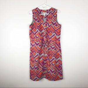 Banana Republic Drawstring Shirt Dress Sleeveless